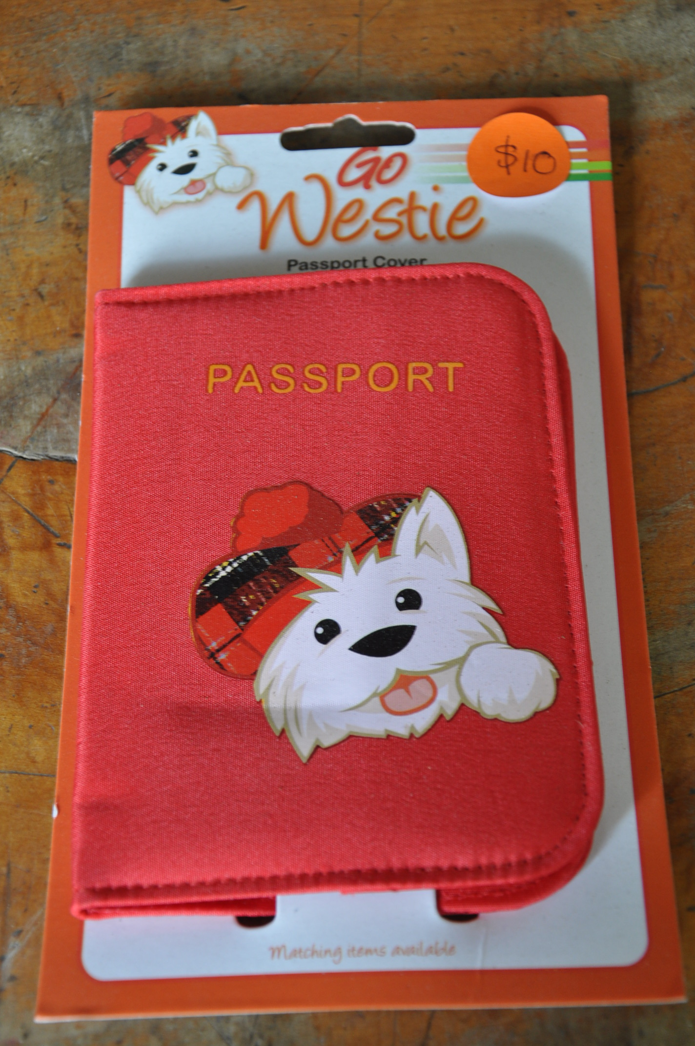 Go Westie Passport Cover