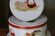 Farmyard Hens Cake Tins (Set of 3)