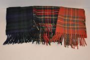 Wool Tartan Scarves