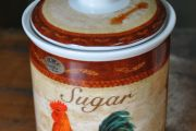 Country Cockerel Sugar Cannister