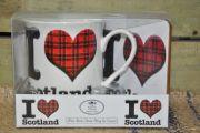 I love Scotland Mug & Coaster