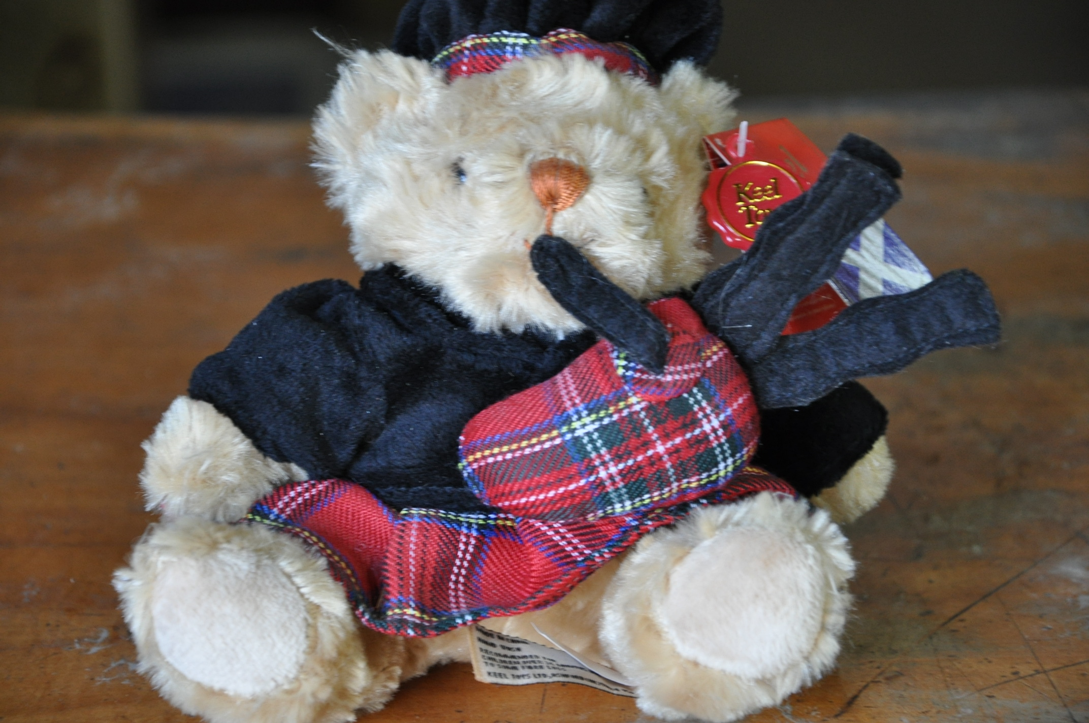 Soft Toy Teddy Piper