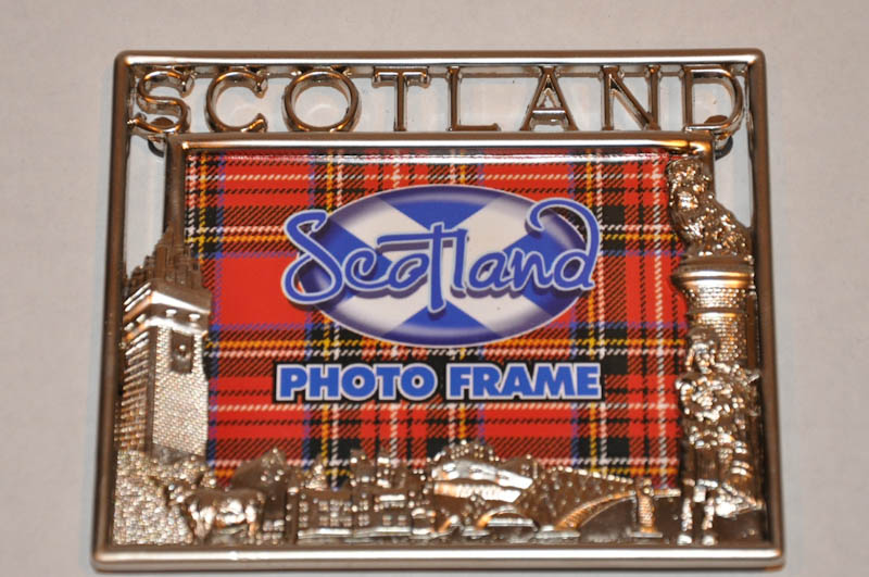 Small Scottish Picture Frame