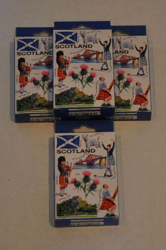 Scotland Playing Cards